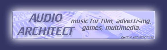 Audio Architect header logo